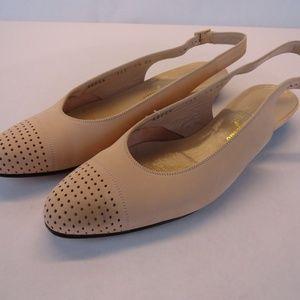 Salvatore Ferragamo Slingback Flats Size 7.5